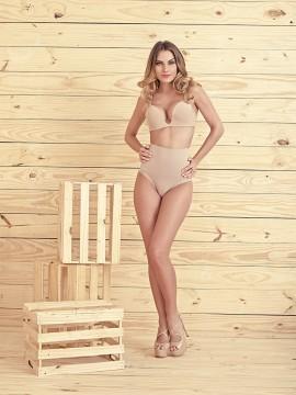 Culotte gainante taille haute- Basic - 4579