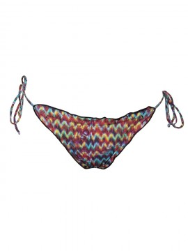 Tanga de bikini ripple - ZIZ ZAG ANIMAL - 312A