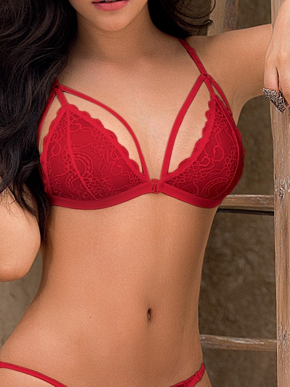 Bralette en dentelle lace secret - 3549