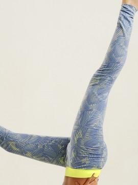 Legging de sport imprimé géométrique - 64018