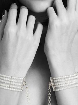 Plaisir Nacré - Menottes en perles