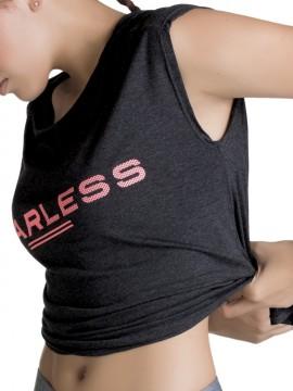 Tee-shirt de sport ajouré au dos - 22063