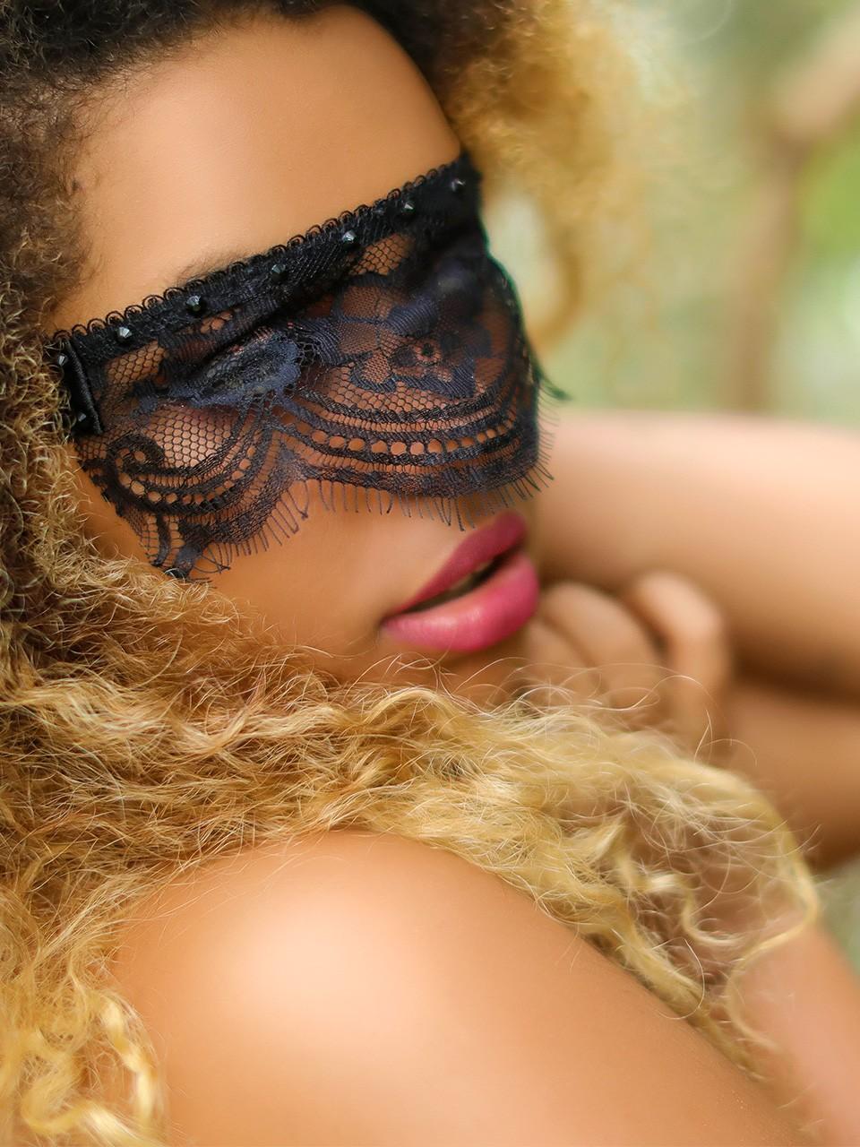 Masque en dentelle - Sheena