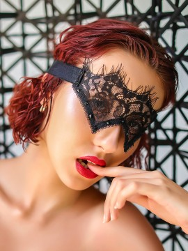 Masque en dentelle - Xena