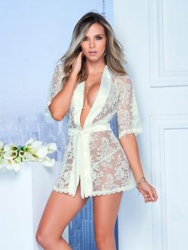 Kimono sexy en dentelle - 7115