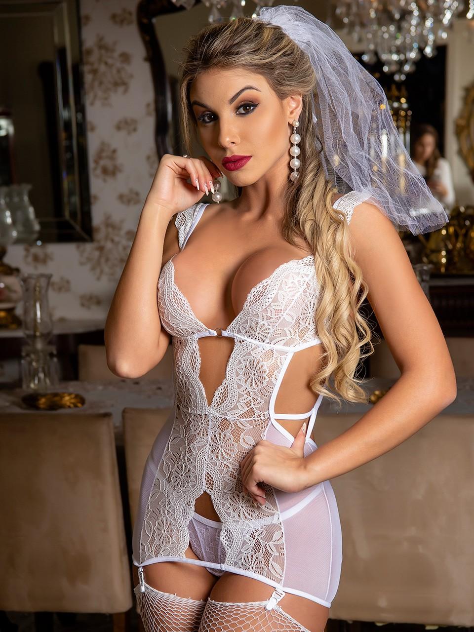Déguisement fiancée sexy - 2125