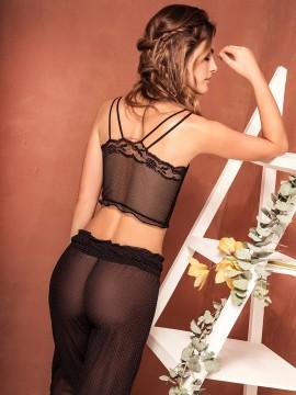 Pyjama sensuel 3 pièces - 7747