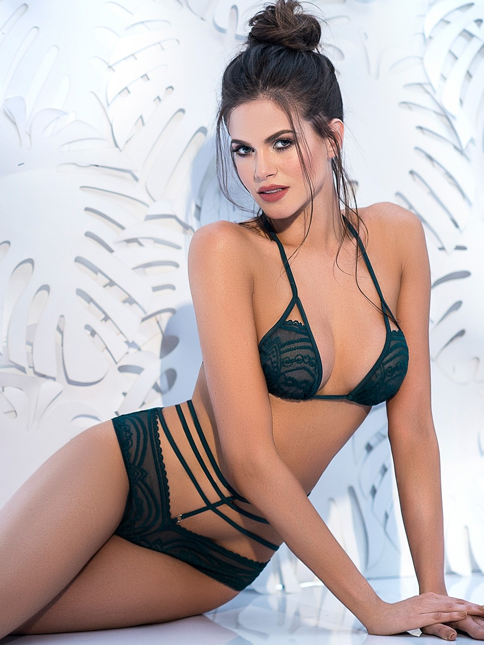 Ensemble 2 pièces sexy Hunter - 8285 - Juniane Lingerie dfa5286a1b2