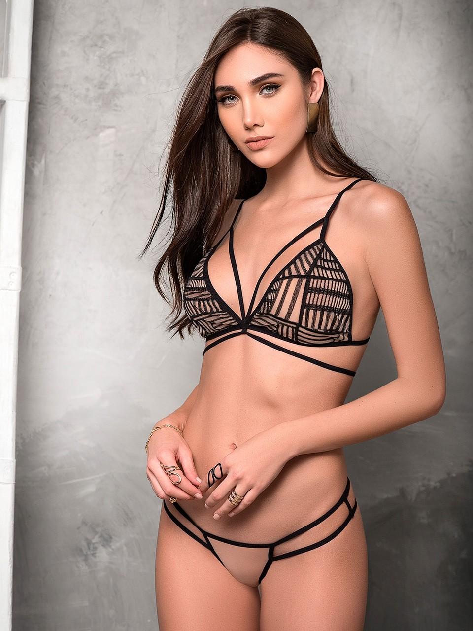 Ensemble sexy nude - 8318
