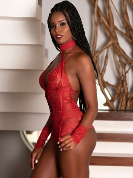 Body sexy en dentelle Jennifer - 2167