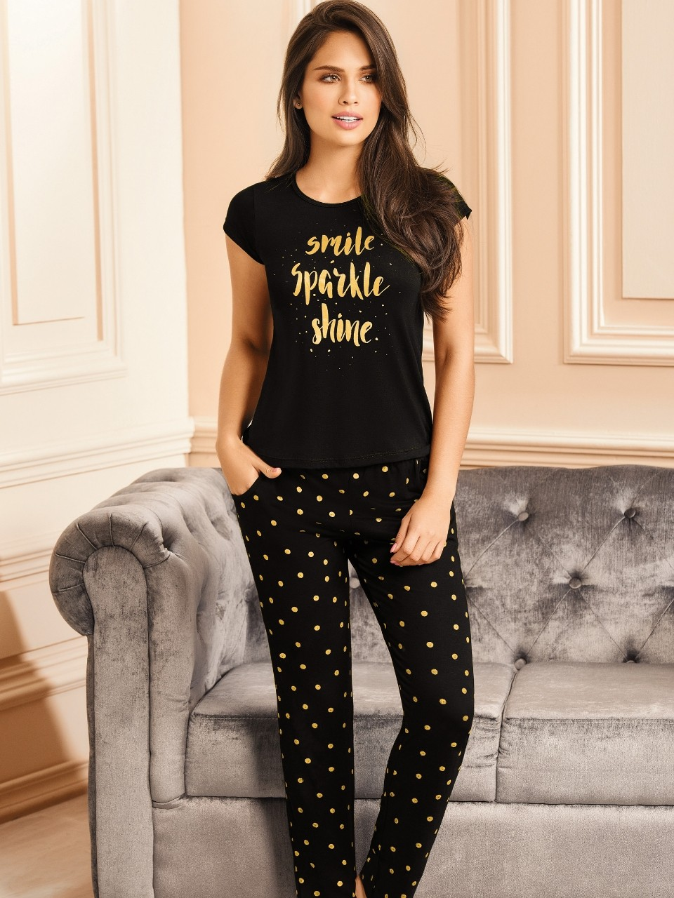 Pyjama long 2 pièces - 10426