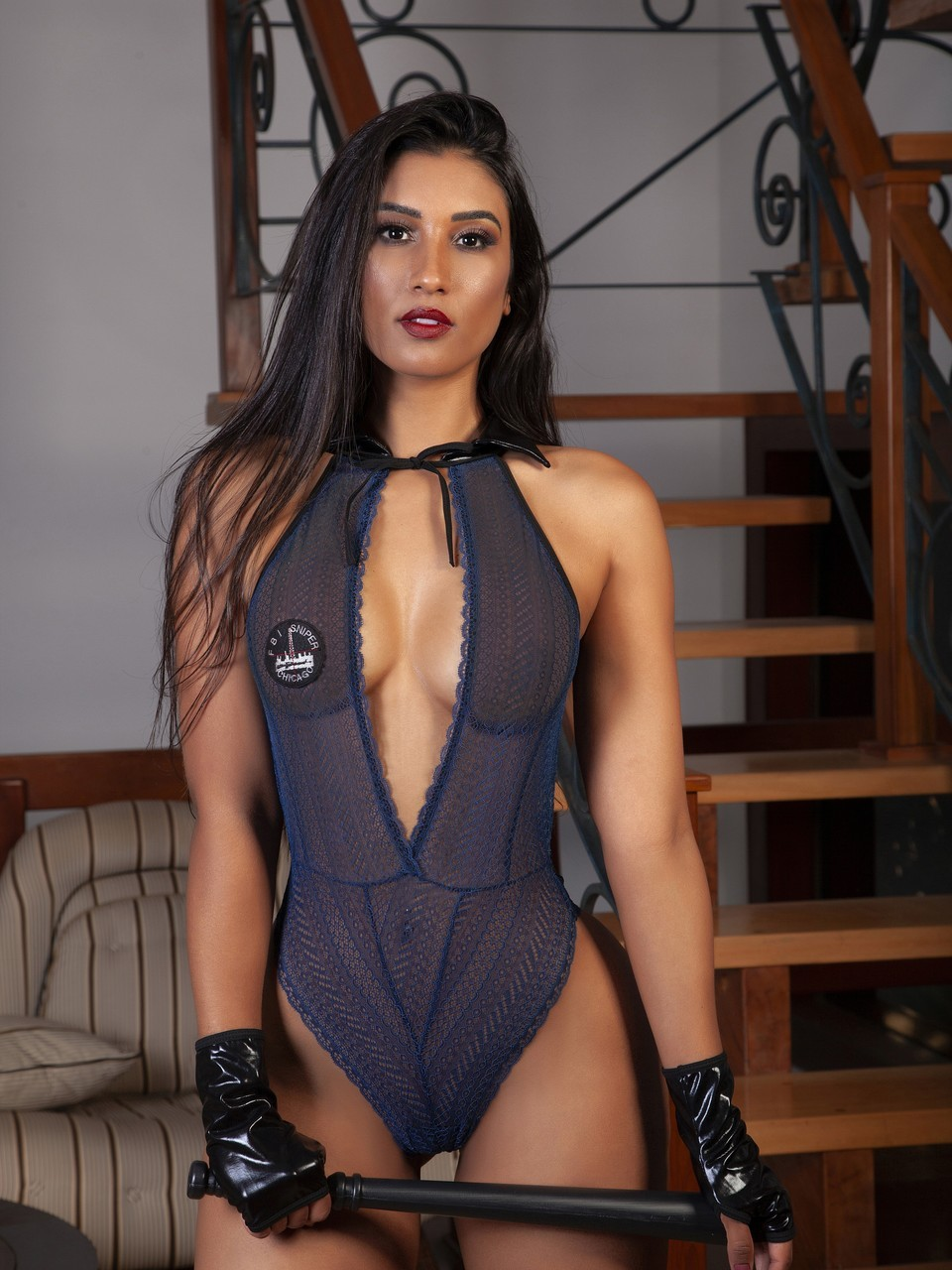 Tenue Détective sexy Mme Smith - 2176