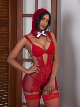 Tenue sexy Chaperon rouge 3 pièces - 2191
