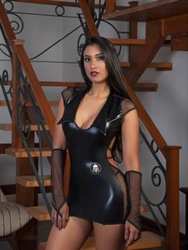 Tenue sexy 3 pieces - Agent de sécurité - 2192