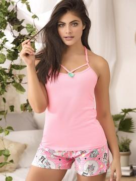 Pyjama short 2 pièces - 10717