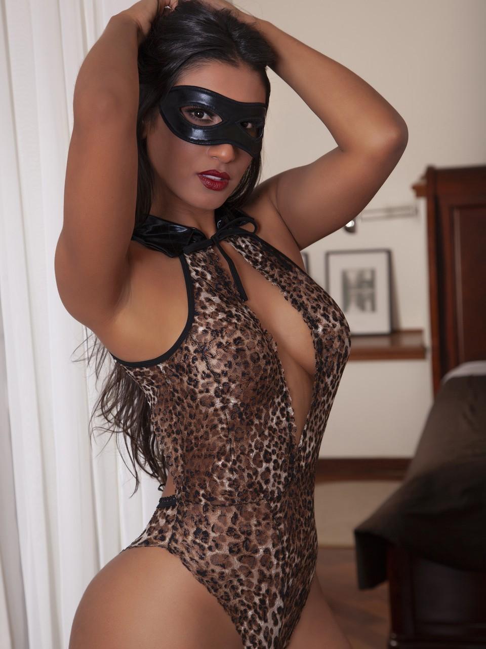 Tenue sexy leopard - 2182
