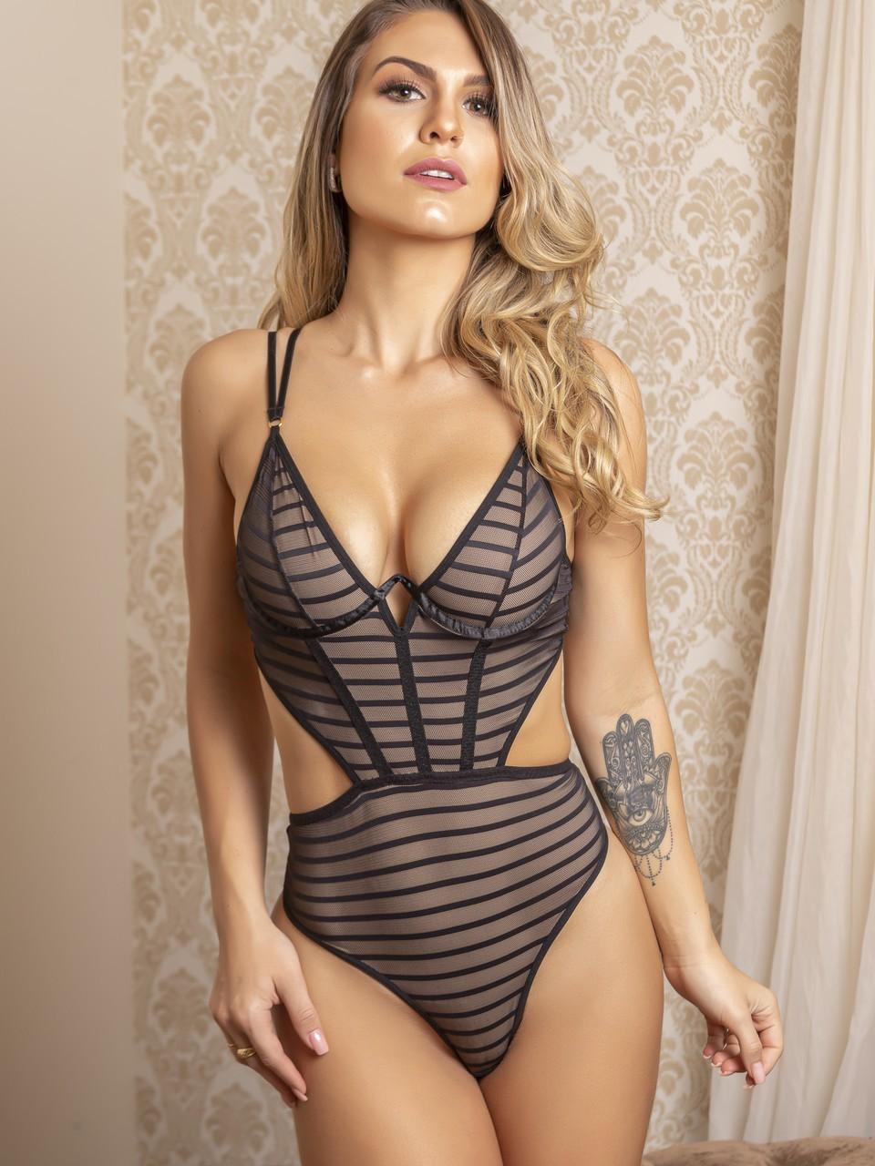 Body Sexy à Lanières