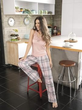 Pyjama long deux pièces - 11134