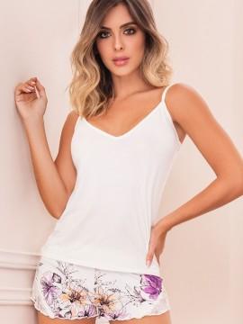 Pyjama short 2 pièces imprimé - 11443