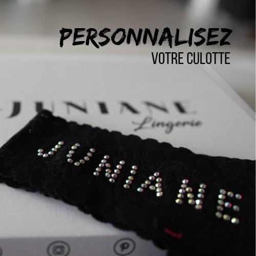 Culotte personnalisable